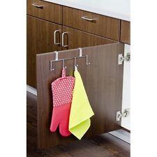 Tür Hakenleiste mit 4 Haken für Küche und Bad etc, zum Aufstecken an Fronten