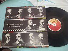 GINO PAOLI LA LUNA E IL SIGNOR HYDE 1984     LP 33 GIRI