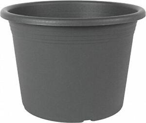 Silit Cylindro Plant Pot Diameter 45 CM Anthracite