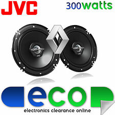 Renault Megane Break MK1 JVC 16cm 6.5 Inch 300W 2 Way Front Door Car Speakers