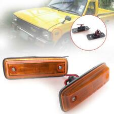 SIDE MARKER TURN SIGNAL LIGHTS LAMP FIT TOYOTA HILUX LN40 PICKUP 1979-1983
