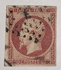 Travelstamps: France Stamps Scott #20 USED, NG, 80 Cent Denomination