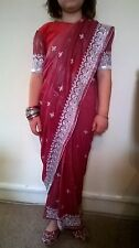 50 Wholesale of Bollywood designer Indian sarees for children 6 month-13 years