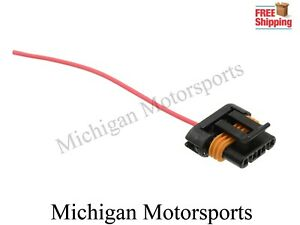 1-Wire Alternator Connector Plug Pigtail 1 Wire 1989-2013 GM GMC Buick Cadillac