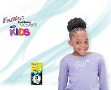 """Afro 4"""" Freetress Dibujo Cuerda Cola de Caballo para los Niños"""