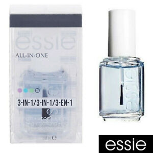 ESSIE Base/Top Coat ALL-IN-ONE 3-IN-1 Strength Smooth Shine 13.5ml  Free Postage