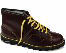 Roamers Chelsea, Ankle 100% Leather Lace Up Boots for Men