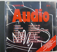 """AUDIO CD 13"" cd compilation promo FRANK ZAPPA MORPHINE STEPS AHEAD ESKIMO"