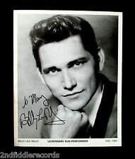 BILLY LEE RILEY-Autographed 8x10 Photograph-Rockabilly-SUN Records-Hey Baby
