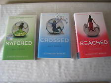 Matched Trilogy by Ally Condie (Books 1-3 in Series) Crossed Reached Paperback
