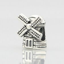 Beads Hunter Collection .925 Sterling Silver Charm windmill