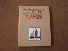 1989 Tintin in the Land of the Soviets Cloth Numbered First Edition - very rare