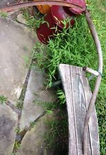 Vintage Scythe Hay Grain Sickle Farm Tool Primitive Grim Reaper Decor mow s101