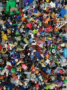 LEGO Super Heroes Authentic Minifigures RANDOM Selection Marvel DC Lot x2