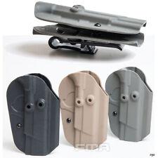 FMA KYDEX Holster for 1911/G17/92 Tactical Hunting Belt Buckle/ Belt Clip