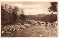 Postcard - Braemar - Bridge of Dee