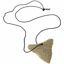 12 Shark Tooth Necklaces Luau Party Favor Summer