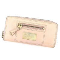 Samantha Thavasa Wallet Purse Long Wallet Pink Woman Authentic Used A1436