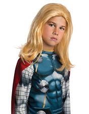 Disfraz De Los Vengadores Thor Peluca, Niños Accesorio