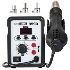 959d Rework Soldering Station Set Gun Iron Welder Digital Tool Smd Hot Heat Air