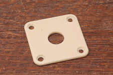 Jackplate rounded vintage Bone White FITS Gibson Guitars
