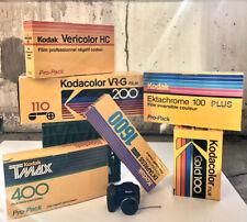 Vintage Advertising Kodak Film Display Dealer Display Box Lot X6 Camera Store