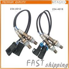 4 Pcs Oxygen Sensor 234-4012 234-4018 For 99-02 GMC Chevrolet 1500 4.3L 4.8L