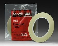 ADHESIF DE MASQUAGE FINE LINE 3M 218 - 2.4 MM X 55 M - 06308