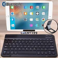 For Apple iPad 1/2/3/4/5/6 Air Pro Tablet Wireless Bluetooth Keyboard + Stand