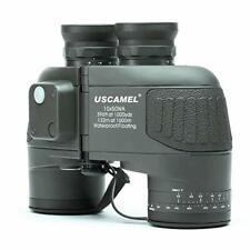 USCAMEL® 10x50 HD Military Binoculars with Rangefinder Compass Telescope