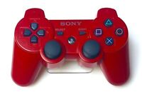 Genuine Sony PlayStation 3 PS3 SixAxis DualShock 3 Controller RED - EXCELLENT