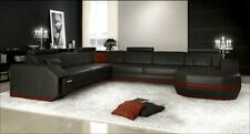 Wohnlandschaft Designer Sofa Couch Big Polster Leder Sofas Eck Ecke Sitz PH300-S