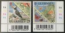 GB Guernsey 1999** Vögel - Birds Europa Cept  Schmetterlinge Butterflies MNH