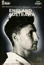 AUSTRALIA v ENGLAND 1st TEST ASHES CRICKET PROGRAMME EDGBASTON 2019