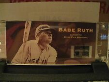 New Babe Ruth #6052 Authentic  35 mm Film Cel (Cell) Cooperstown Collection