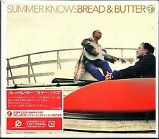 Bread & Butter - Summer Knows (DIGIPAK) [Copy-controlled CD] Sealed