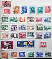 HUNGARY 1927 - 1963 Lot of 31 used Postage, Postage Due, Airmail stamps CV>$8.75