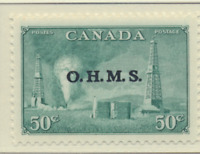Canada Stamp Scott #O11, Mint Never Hinged