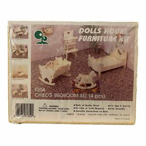 Doll Furniture Child's Bedroom Set Kit