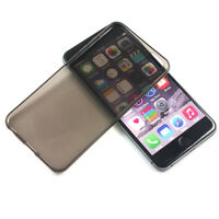 APPLE iPHONE 6 GREY ULTRA THIN SOFT CASE: 5.5 SLIM TPU COVER SILICONE M48