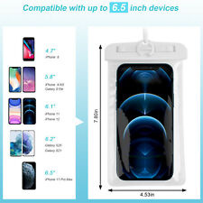 Waterproof Cell Phone Pouch Floating Surfing Dry Bag Case For iPhone Samsung
