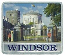 Windsor Castle Metal Fridge Magnet Souvenir Gift London GB UK Royal Residence
