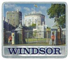 Windsor Castle Metal Fridge Magnet Souvenir Gift London GB UK Royal Residence