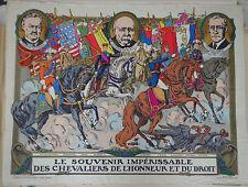 Vintage Rare Imagerie Pellerin print/Le Souvenir Impérissable...INV2287