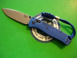 "NTSA BENCHMADE USA ""BUG OUT"" 4 1/4"" CLOSED AXIS LOCK POCKET KNIFE #535"