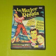 DVD.- LA MUJER PIRATA - JACQUES TOURNEUR - JEAN PETERS - LOUIS JOURDAN