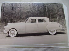 1951 OR 1952 ? CHRYSLER  IMPERIAL  11 X 17  PHOTO  PICTURE