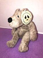 """NWT-RARE-6"""" Cuddly Quarry Critters Soft Plush Beanie Teddy Bear"""