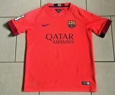 ** Barcelona Football Shirt - 11 NEYMAR JR - Nike Dri Fit - Size: 10/12 Years **