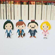 Fantastic Beasts Magnetic Bookmarks | Newt, Tina, Queenie and Jacob